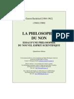 Philosophie Du Non