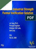 Formal Verification Solution