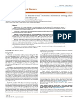Factors Associated With Antiretroviral Treatment Adherence Among Adult Patients in Wolaita Soddo Hospital 2329 891X.1000125