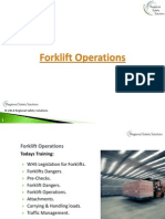 RRS Forklift Operation