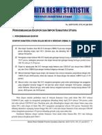 Berita Resmi BPS Sumut Bulan Mei 2013