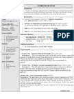 201680805 One Page Resume Format in Doc