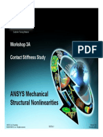 Mechanical Nonlin 13.0 WS 03A Contact Stiffness
