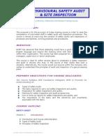 02 Behavioural Safety Audit Site Inspection Ncmt