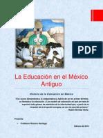 LA EDUCACIÓN EN EL MÉXICO ANTIGUO