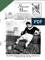 Soccer News 1950 June 3