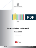 Statistiche culturali
