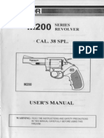 Armscor M200 Series Revolver Cal. 38 Spl. - User Manual