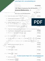 Advance Mathematics 1 Jan 2014