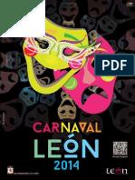 Programa Carnaval Leon 2014