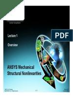 Mechanical-Nonlin 13.0 Ch01 Overview