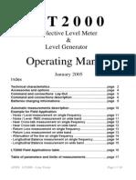 LT2000 User Guide