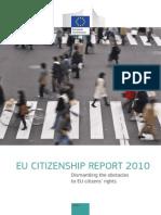 EU CITIZENSHIP REPORT 2010  Dismantling the obstacles to EU citizens' rights