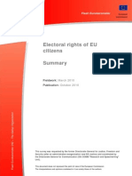 Electoral Rights Eu Citizens Summary 102010 En