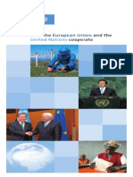 How the European Union and the United Nations cooperate UNRIC, 2007, 16 pages