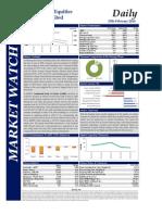 Market Watch Daily 25.02.2014