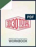 30x30 Total Transformation Workbook