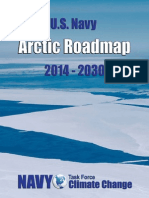 US Navy Arctic Roadmap for 2014-2030