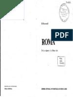 Rostovtzeff - Roma de los orígenes a la última crisis