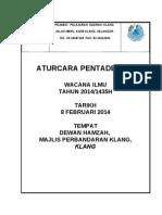 aturcara pentadbiran wacana 2014