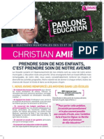"""Tract """"Parlons Education"""""""