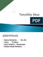 Tonsilitis Akut