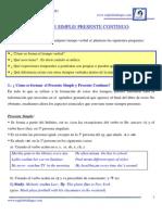 1.- Presente_ Simple. Presente_ Continuo