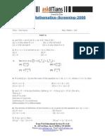 2000 Iitjee Maths