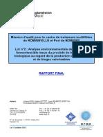 Rapport EREP Audit Romainville