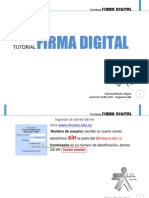 Crear Firma Digital Misena