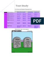 Text Study Planning Guide - March 2014