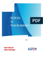 MiCOM IEDs for Process Bus_Experts 2012