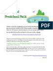 Pond Preschool Pack Part 2