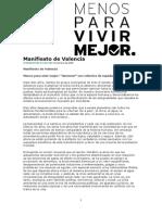 Prxctica 1. Manifiesto de Valencia