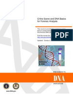 Crime Scene and DNA Basics for Forensic Analysts[1]