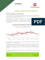 Audience internet mobile Décembre 2013 - Médiamétrie