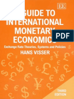 A Guide to International Monetary Economics