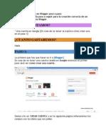 Como Crear Un Blog en Blogger Paso a Paso