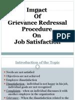 Grievance Redressal Ppt