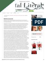 Manifesto neoconcreto — Portal Literal