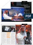 Dubai Astronomy Group Cover Feature for Khaleej Times' Wknd magazine
