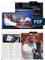 Dubai Astronomy Group Cover Feature for Khaleej Times' Wknd magazine