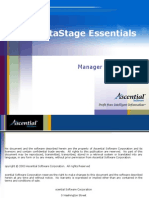 DataStage Manager