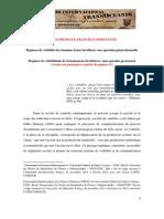 Regimes de Visibilidade de Transhomens Brasileiros - Simone Avila