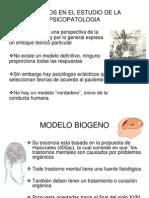MODELOS EN EL ESTUDIO DE LA PSICOPATOLOGIA.ppt