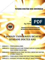 Standar Kompetensi Dokter Gigi Indonesia