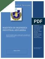 140108-Resumen Ejecutivo Maestría en Ingenería industrial azucarera