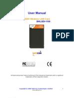 Safecom user maunal