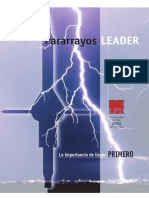 Folleto Pararrayos Leader