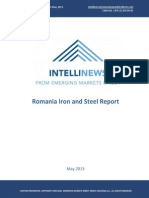 Intellinews - Romania Steel and Iron Report Mai 2013
